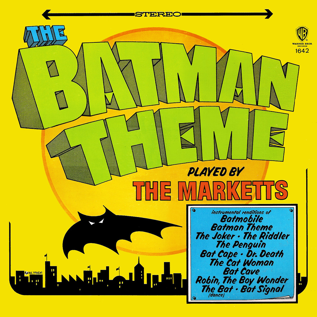 The Marketts - The Batman Theme