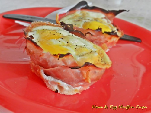 Ham & Egg Breakfast Muffin (6)