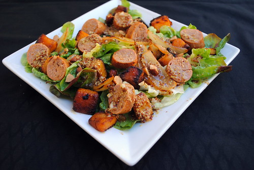 Butternut Squash & Turkey Salad