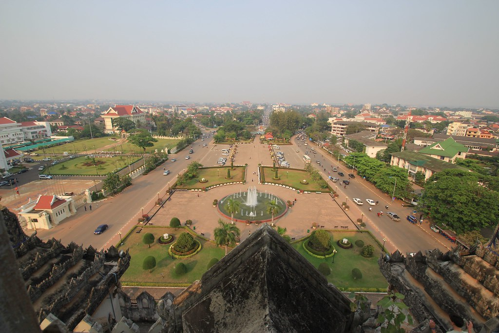 Arc de Triomphe - Vientiane, Laos