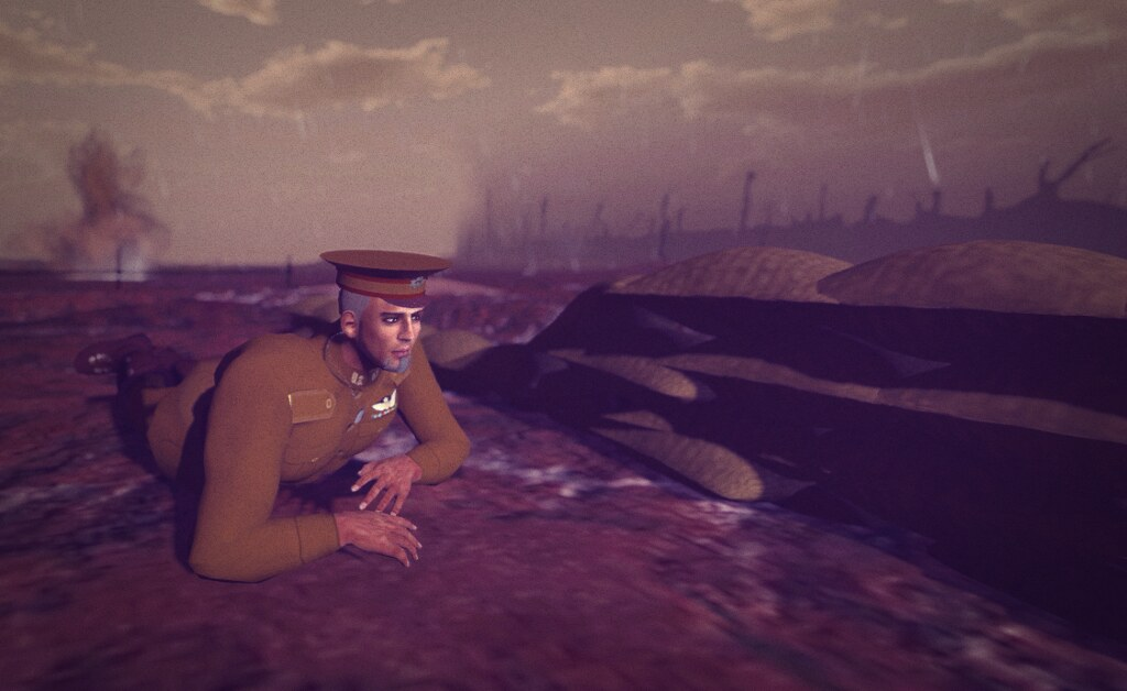 The Western Front, 1917, in SL: crawling