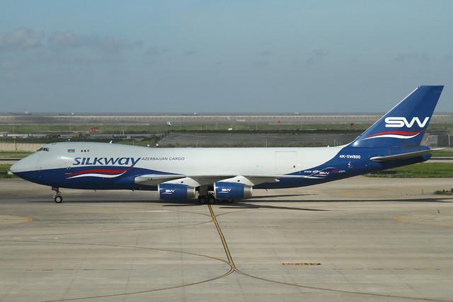 Silk Way B747-4R7F(4K-SW800)