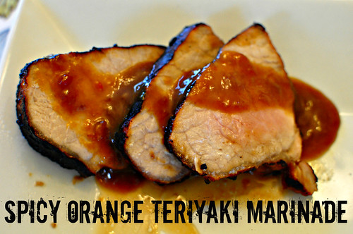 Spicy Orange Teriyaki Marinade