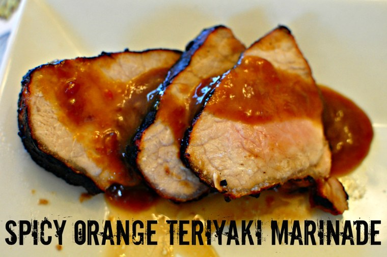 Spicy Orange Teriyaki Marinade