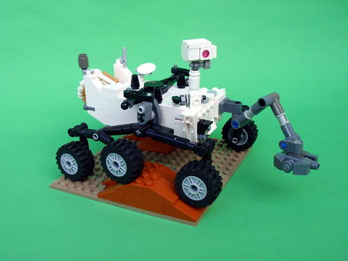 Updated Curiosity Rover 01