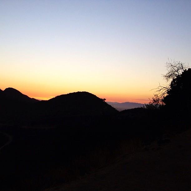 #sunset #griffithpark #ilovela