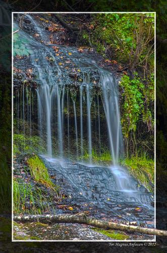 Silk waterfall at Heistadmoen 2 by Tor Magnus Anfinsen