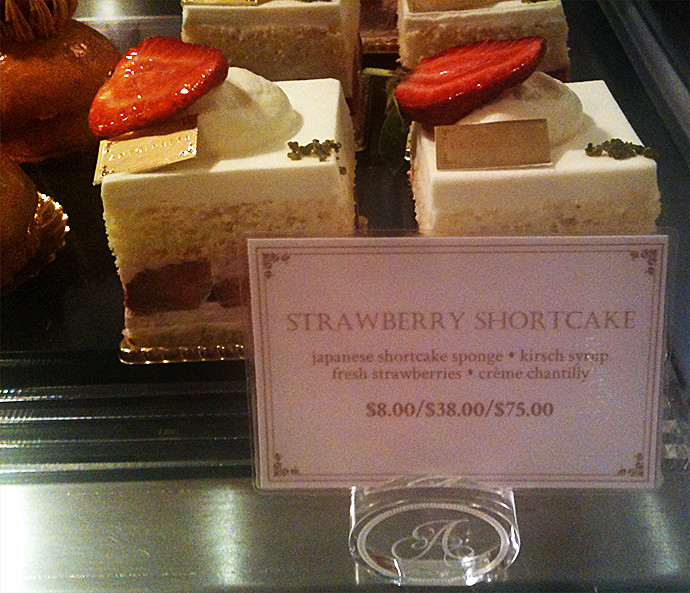 Strawberry shortcakes from Antoinette