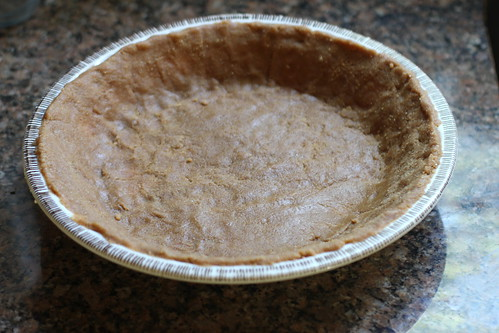 graham cracker crust, unbaked
