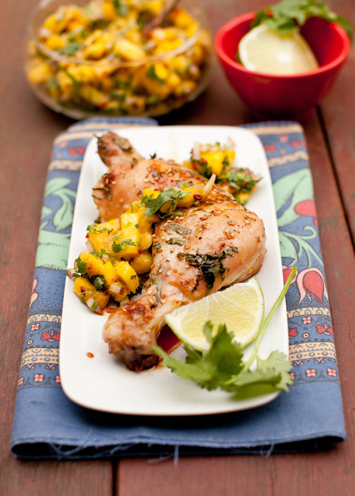 Roasted Marinated Chicken 6