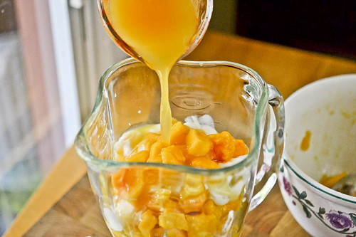 Peach Mango Smoothie 9
