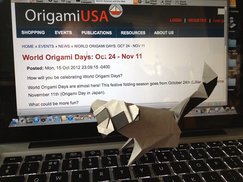 World origami days are passing by