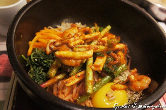 8.Haemul Bibimbap RM 28.90- rice mixed with spicy seafood and vegetables@bulgogi brothers (47)