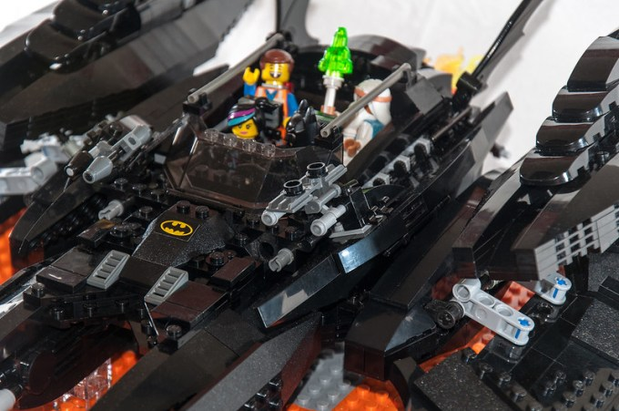 The Batwing - Cockpit Body