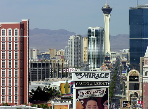 Las Vegas Strip Caesars Palace to Stratosphere