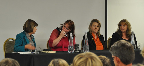 Jane Rogers, Helen Clare, Saci Lloyd and Julie Bertagna