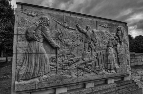 Treptower soviet war memorial.