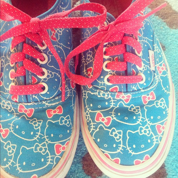 Best shoes ever #hellokitty