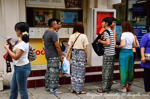 Thai pants, Grand Palace, Bangkok