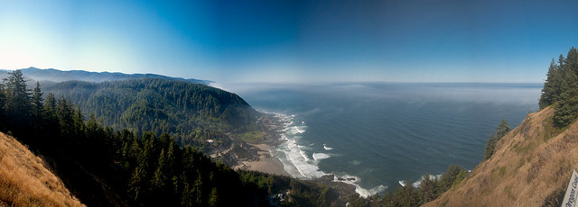 Looking out over Cape Perpetua