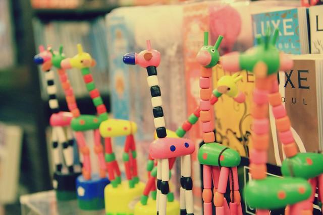 Giraffes Among Books