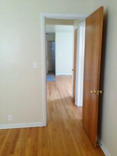 Second bedroom/office into hallway