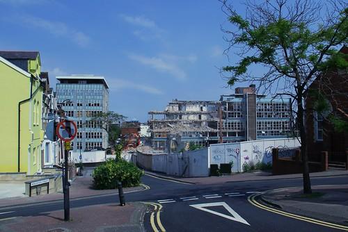 Swindon College Demolition - 27 July 2012 by TempusVolat