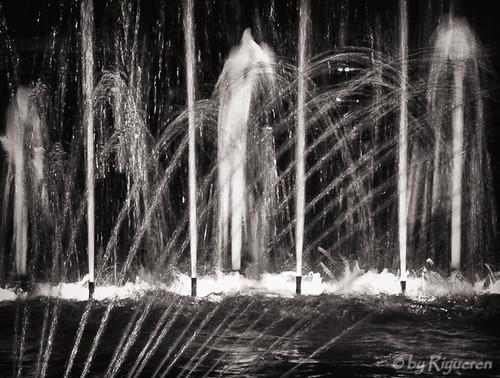 Fontana notturna