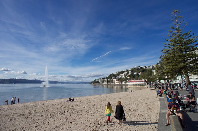 Oriental Parade, Wellington