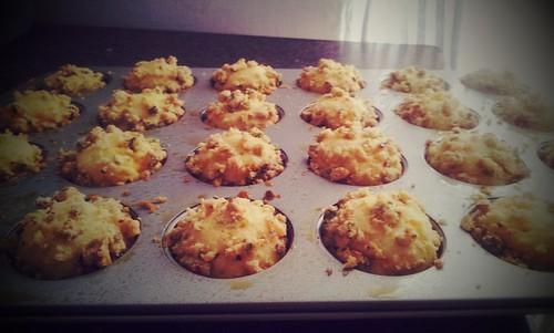 Pistachio Citrus Muffins