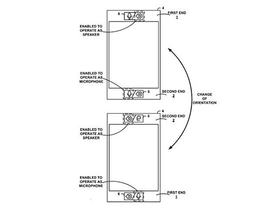Google patentiza el poder hablar con el teléfono al revés