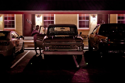 Pensacola motel by Yann Beauson