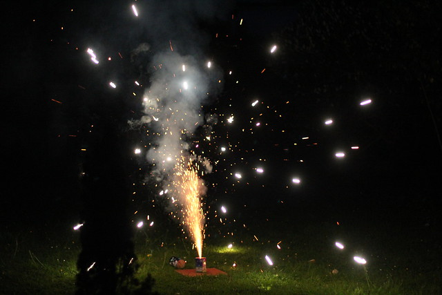 Sunday: Family Fireworks