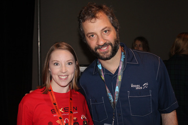 Me and Judd Apatow at SXSW 2012