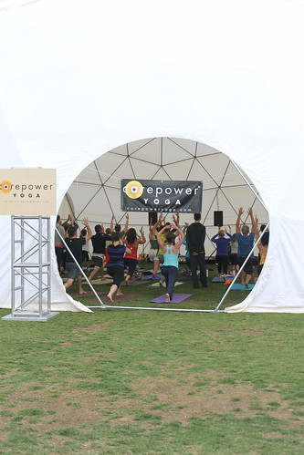 CorePower Yoga dome, Wanderlust CO