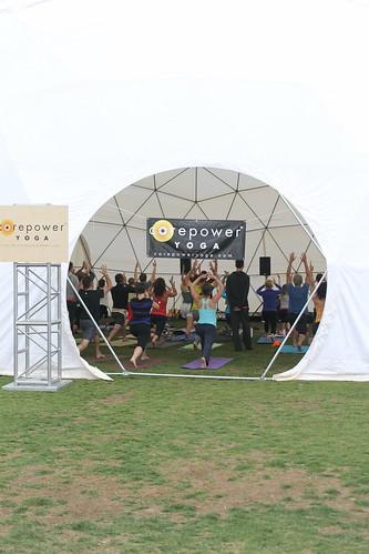CorePower Yoga dome, Wanderlust CO
