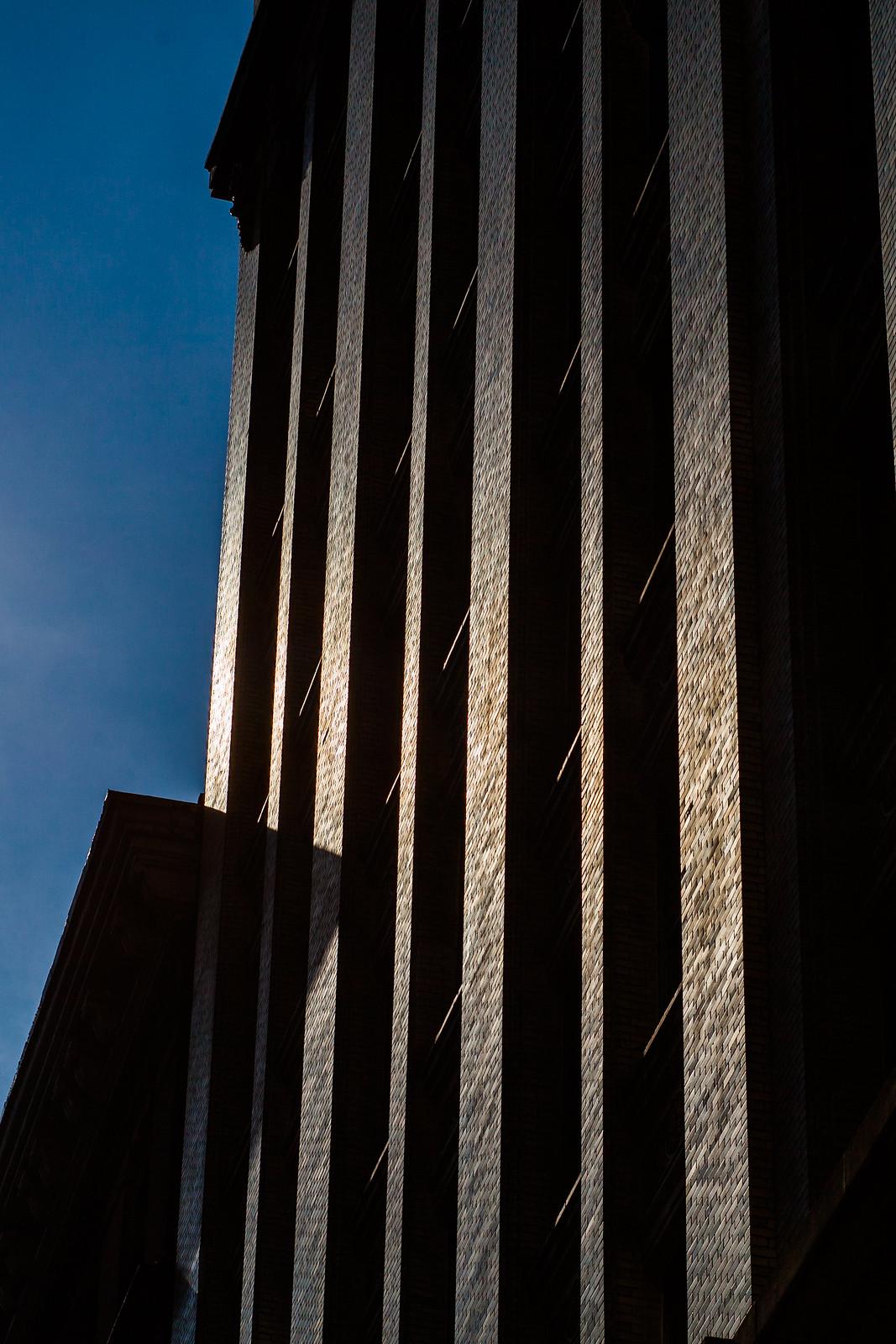Morning sun on the building nextdoor... by wwward0