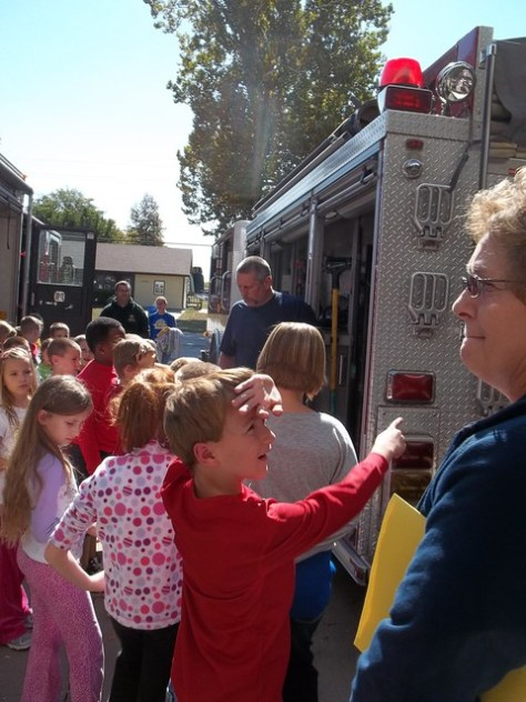 2nd Grade Trip to Fire Station