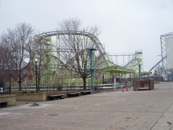 Cedar Point - Off-Season Wildcat
