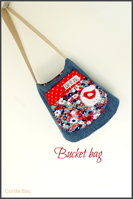 eco-friendly bucket bag