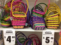 Easter Bamboo Baskets, Spotlight, Plaza Singapura