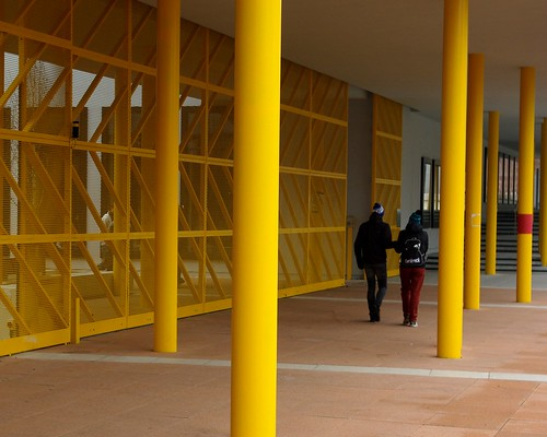 20120129-50_Coventry_In Your Face Yellow_Cov University Buildings by gary.hadden