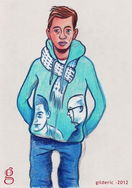 The Blue Boy (Dessin : Gilderic)