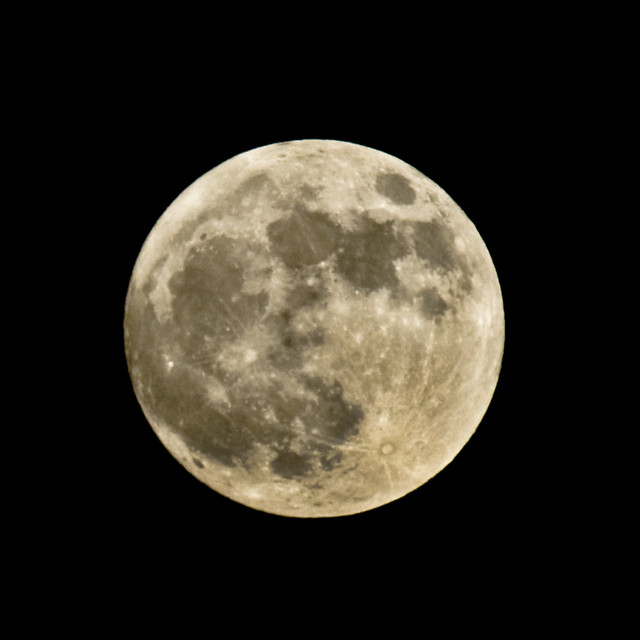 Supermoon 2 5th May 2012