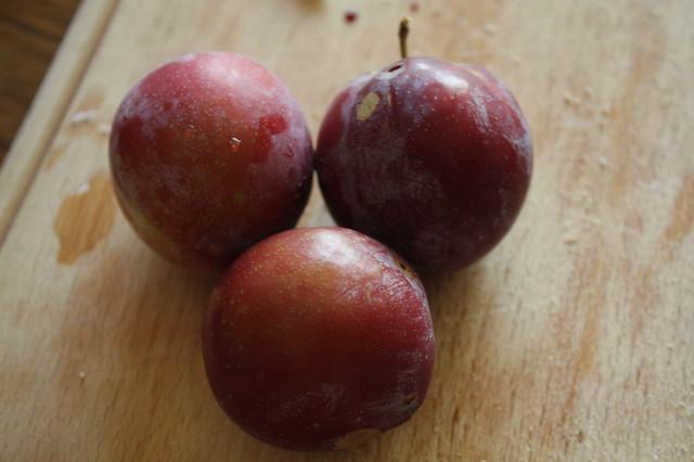 Hooray, Ripe plums!