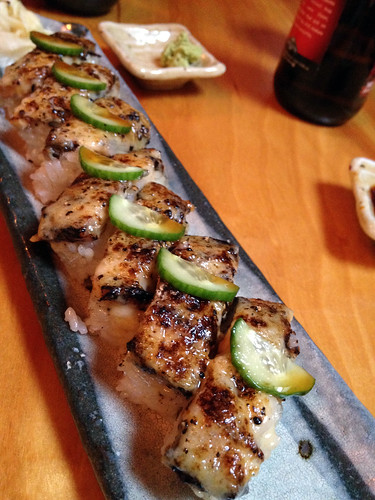 kishimoto pressed unagi sushi