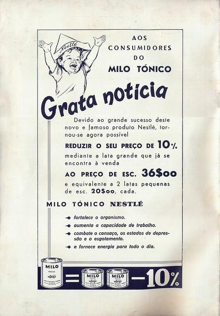 Os Nossos Filhos, Nº 180, Maio 1957 - contra-capa by Gatochy