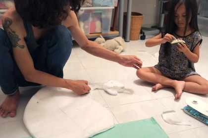 the making of the little mermaid costume