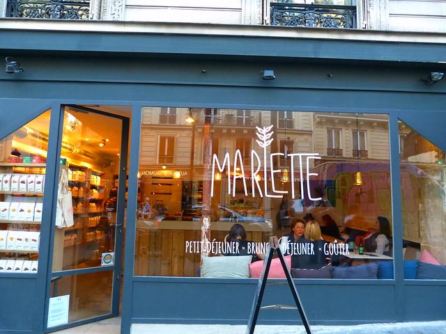 Café Marlette façade