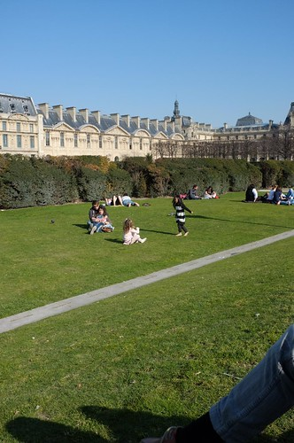picnic at Lourve Garden